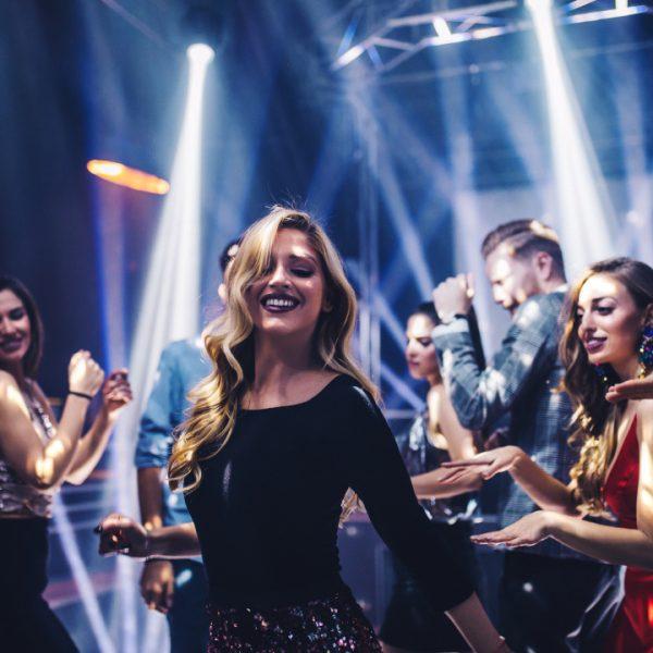 Shot,Of,A,Young,Woman,Dancing,In,The,Nightclub